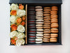 send box of macarons