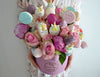 bouquet with sweets unicorn