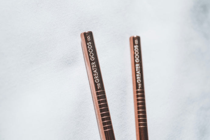Rose Gold Midi set of 4 - The Greater Goods Collective Eco Products