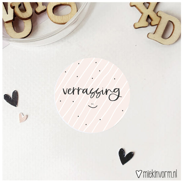 Sticker | Verrassing :)