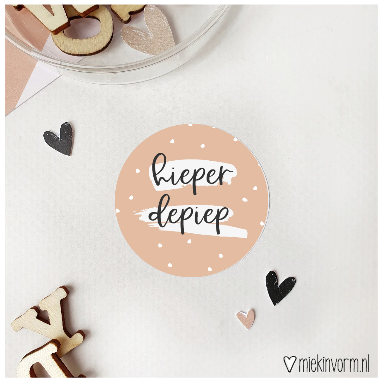 Sticker | Hieperdepiep