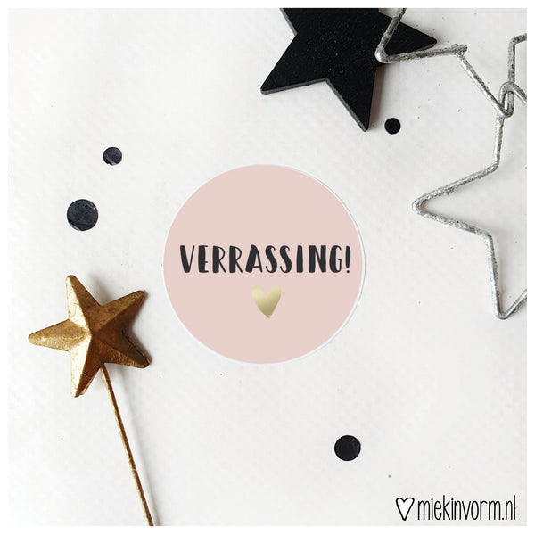 Sticker | Verrassing