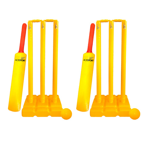 Plastic Cricket Set - Double