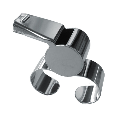 Metal Finger Grip Whistle