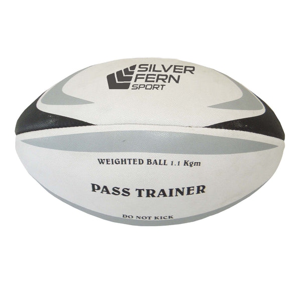 Weighted Pass Trainer Rugby Ball