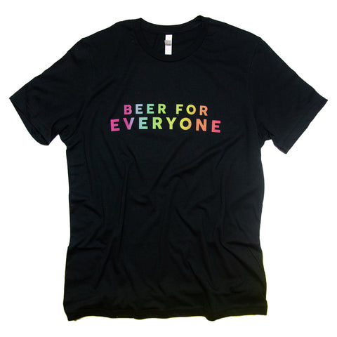Vintage Black Beer For Everyone T-Shirt