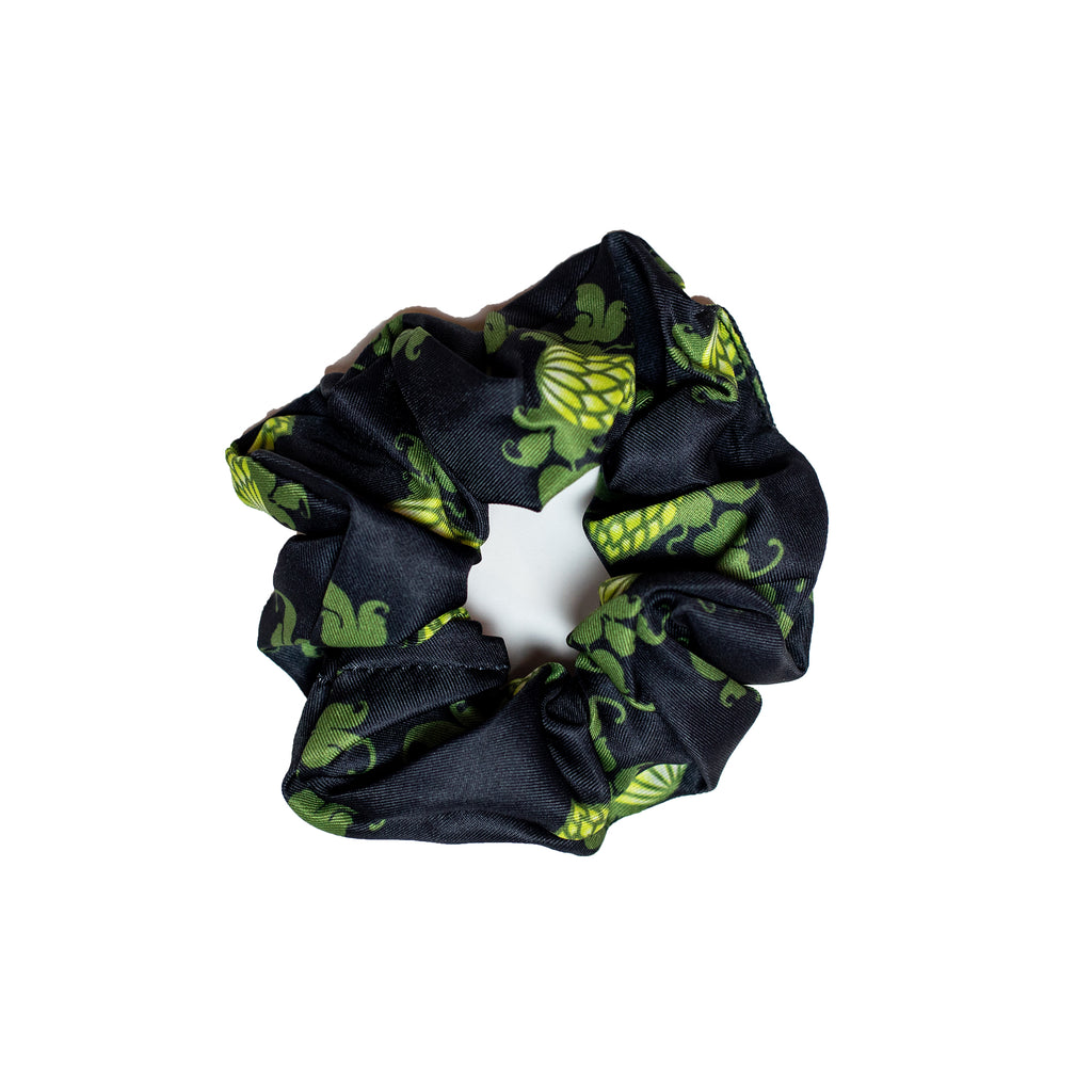 Wicked Weed Hop Logo Scrunchy