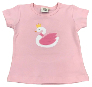 Light Pink Swan Princess Tee