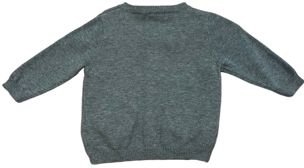 Gray Fox Cardigan