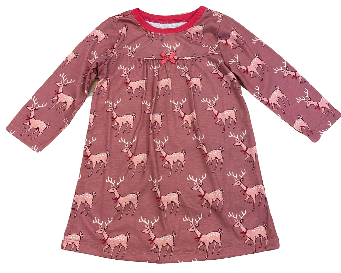 Pink Fawn Nightgown