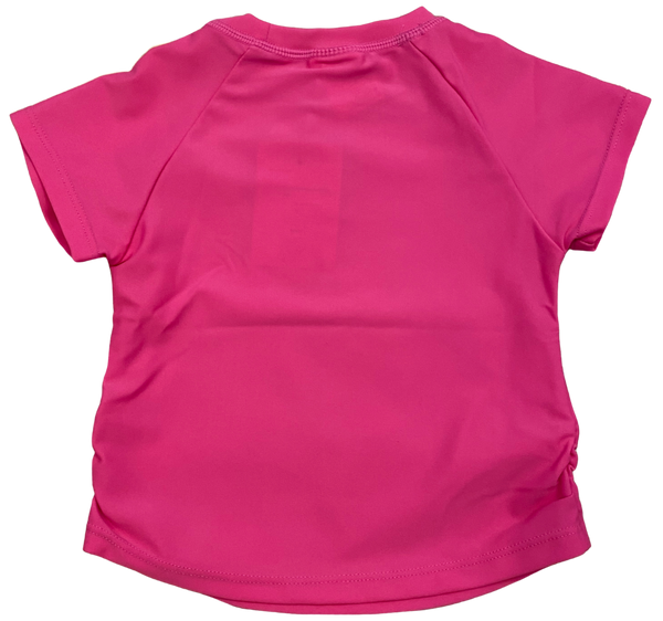 Pink Rashguard Swim Top