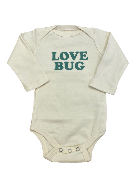 Ivory Love Bug Onesie