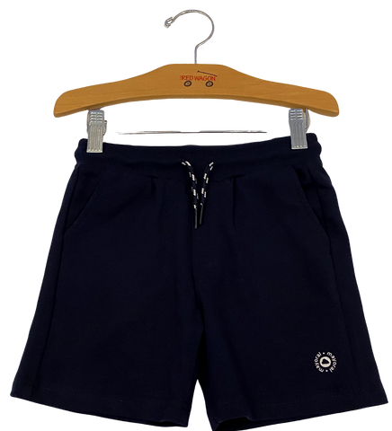 Navy Sweat Shorts