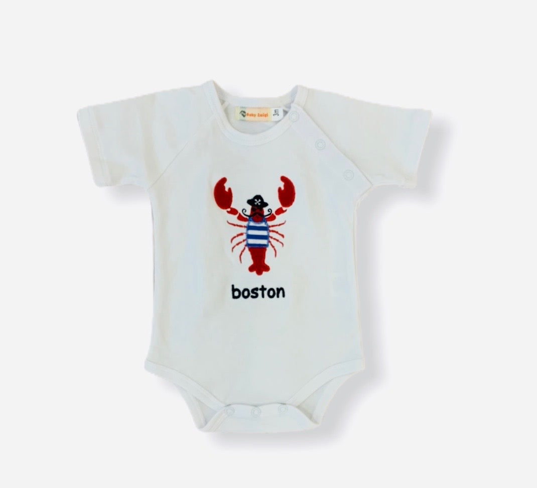 Pirate Lobster Boston Onesie