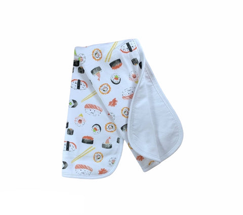 Sushi Burp Cloth
