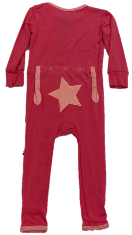 Pink Star Coverall