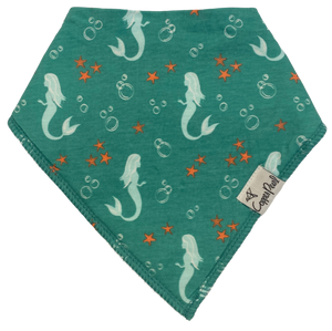 Green Mermaid Bandana Bib
