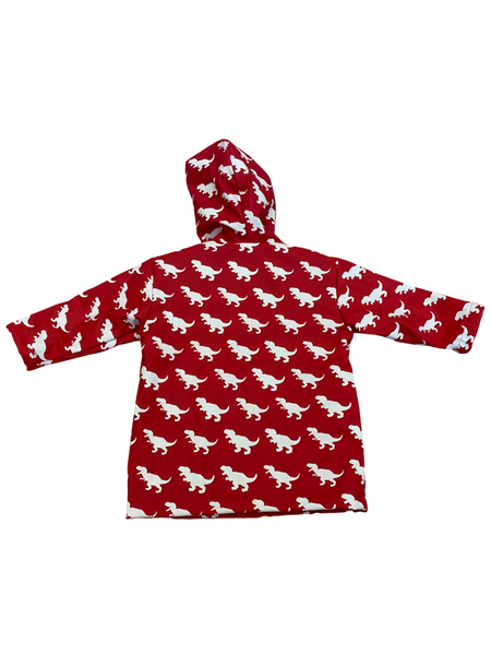 Red T-Rex Color Changing Raincoat
