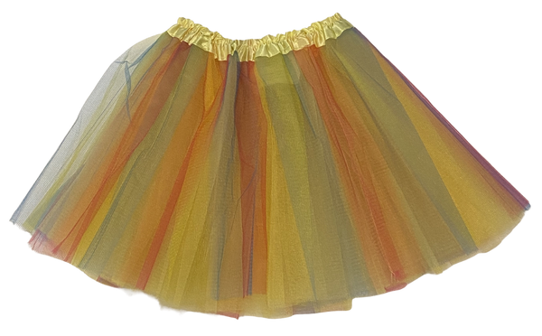 Yellow Rainbow Tutu