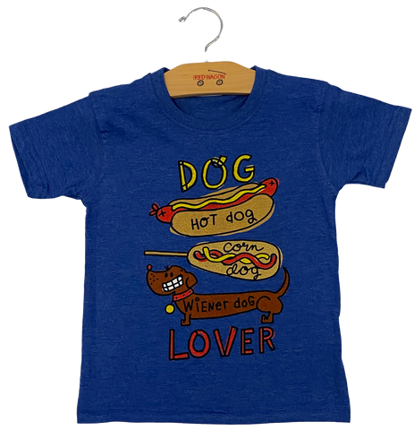 Blue Dog Lover Tee