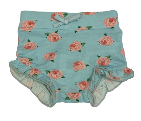 Turquoise Floral Bloomer