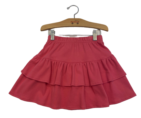 Pink Tiered Skirt