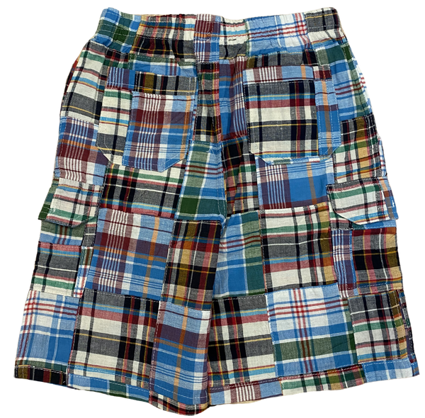 Multi Color Madras Plaid Shorts