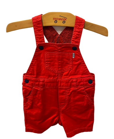 Bright Red Overalls