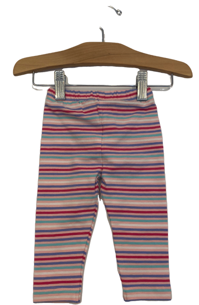 Pink Multi Striped Leggings