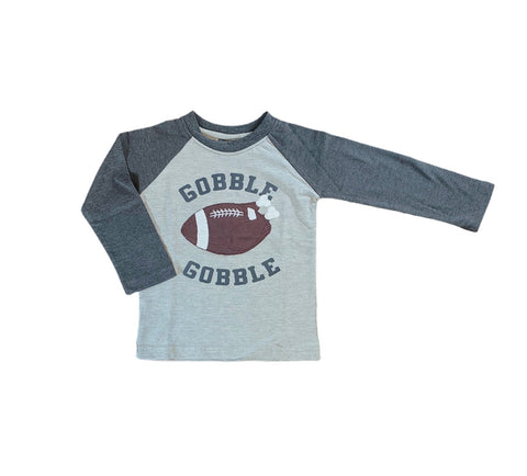 Grey Gobble Football Shirt