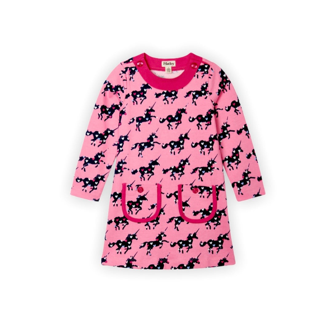 Pink Unicorn Dress