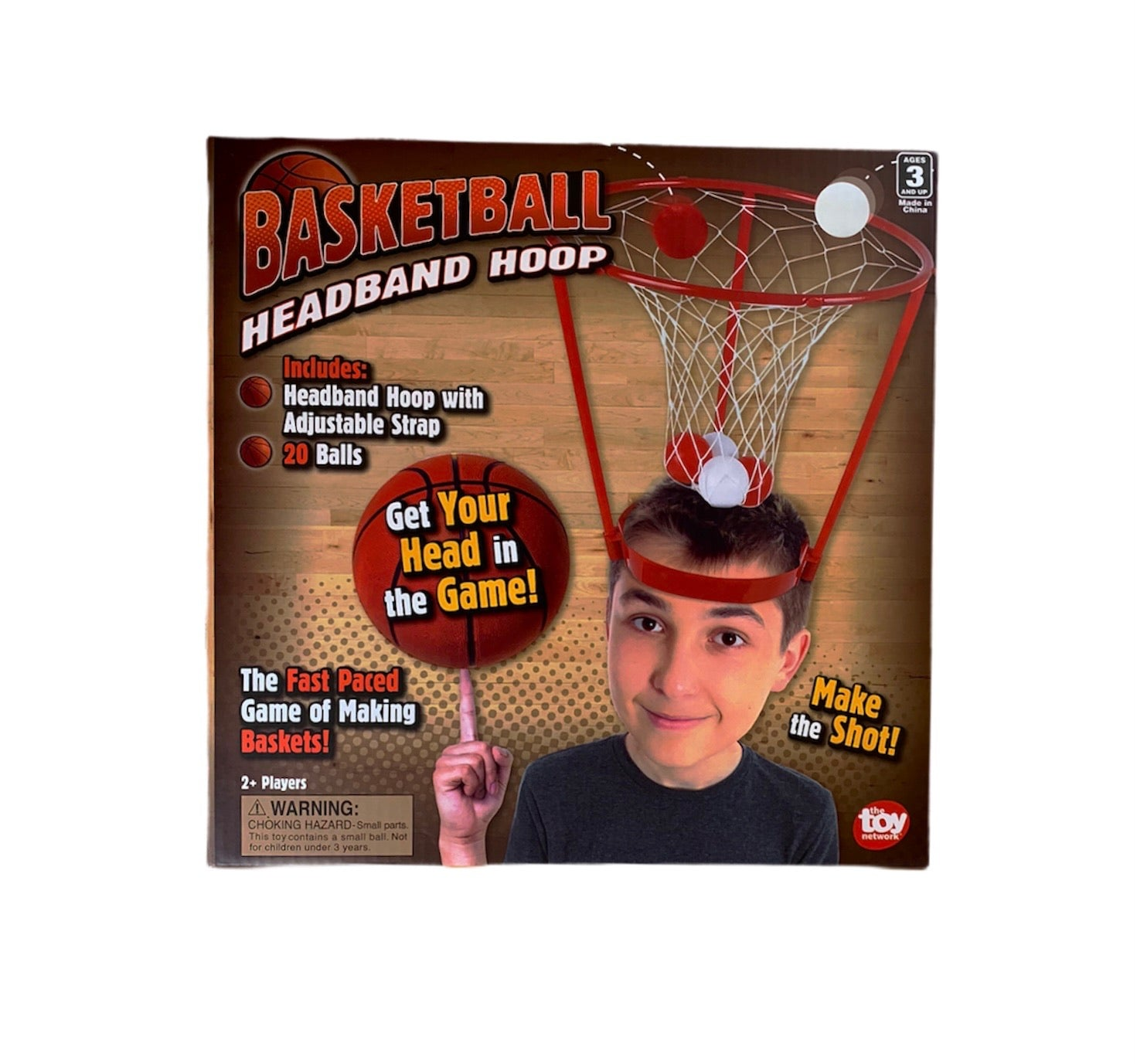 Basketball Headband Hoop