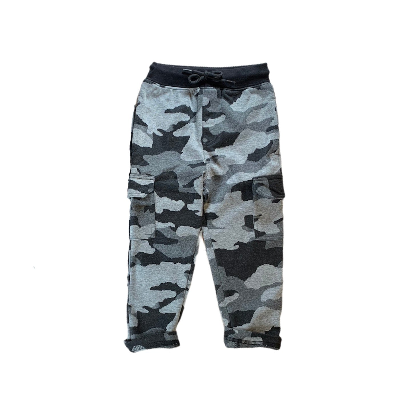 Grey Camo Sweat Pants