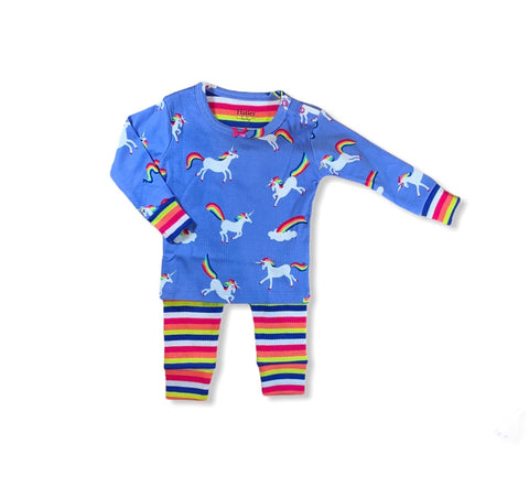 Rainbow Unicorn PJ Set