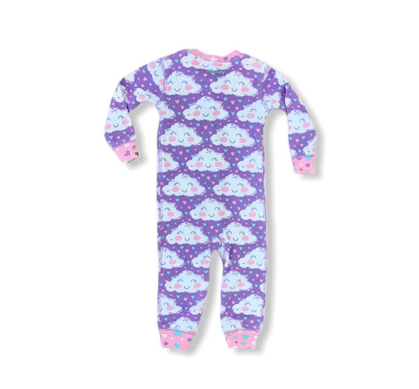 Lilac Clouds Coverall