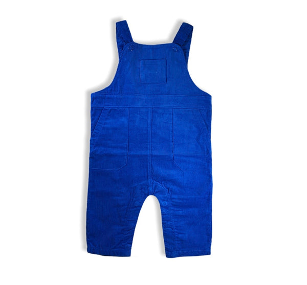 Blue Corduroy Overall