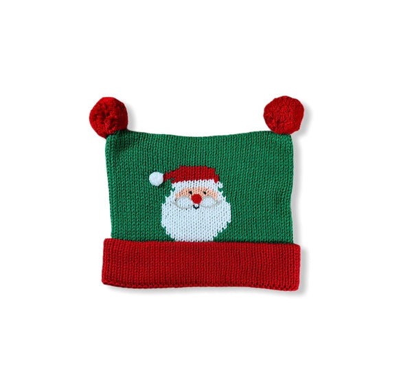 Red and Green Santa Hat