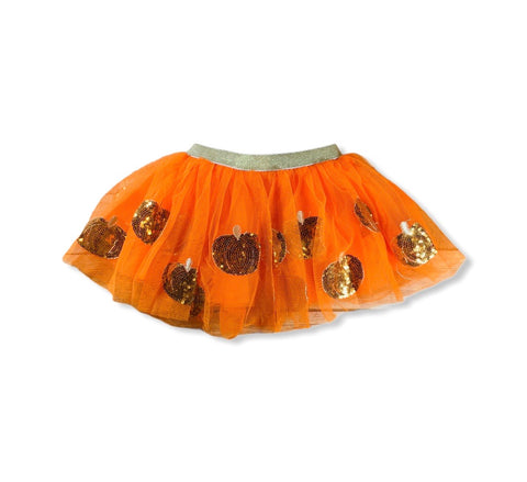 Orange Pumpkin Tutu