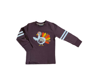 Brown Turkey Football Shirt