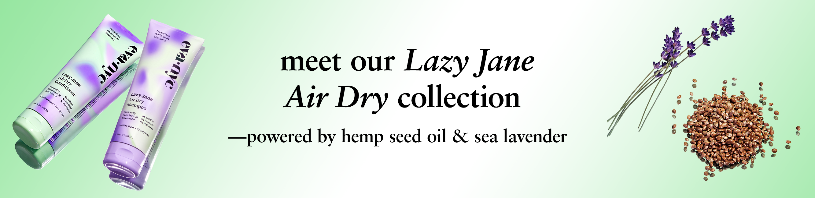 meet our lazy jane air dry collection