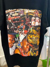 "Load image into Gallery viewer, ""The Last Dance"" MJ Collage Tee"