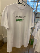 Load image into Gallery viewer, Creativity Wanted Tee