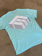 Load image into Gallery viewer, 3D Logo Mint Tee
