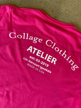 Load image into Gallery viewer, Atelier Logo Pink Tee
