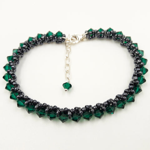 "Armband ""Delight S"" Emerald"