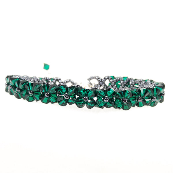 "Armband ""Delight Classic"" Emerald"