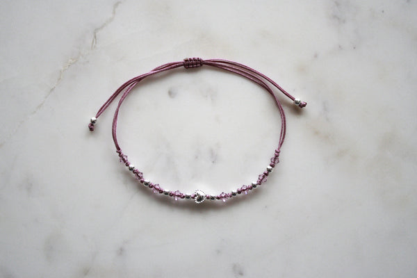 Cordelarmband Little Heart