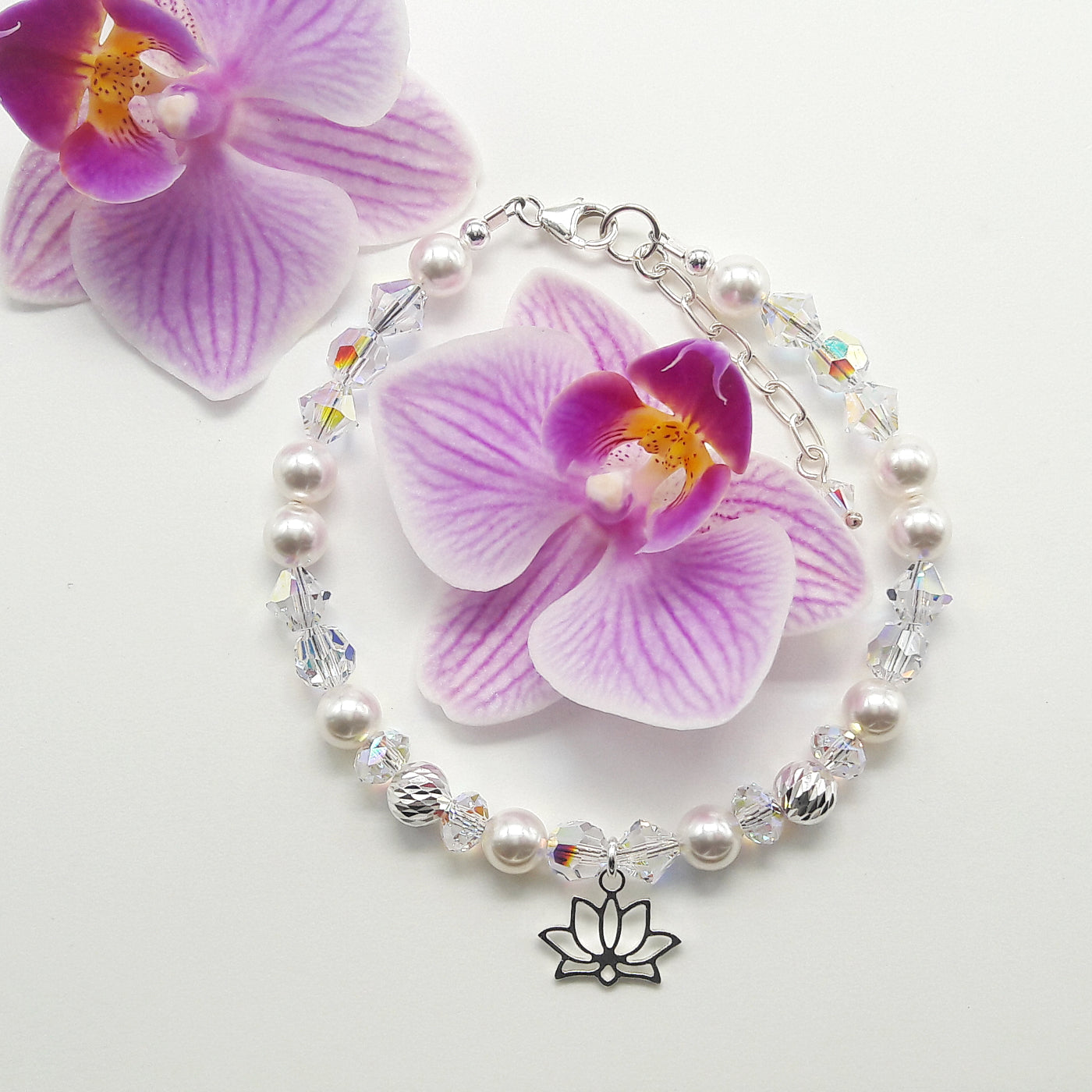 Armband - Kollektion Lotus, crystalwhite
