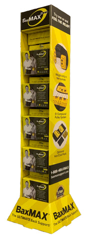 BaxMAX Point of Sale Display - Wholesale Customers Only