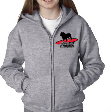 SurferDog Zip Hoodie - Assorted Sizes